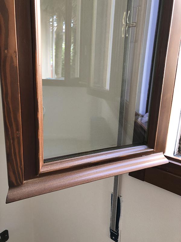 battiacqua e finestra